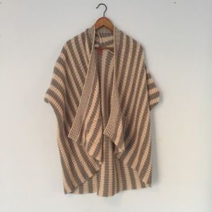 Element Sweater Pancho Striped